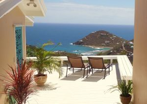 Magic View villa at St. John House Rentals