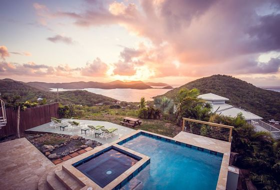 Sea Palace Retreat in Coral Bay, St. John, just opened in 2016.